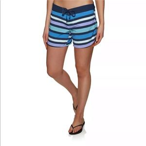 Patagonia Wavefarer board shorts Swim blue stripe